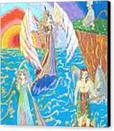 Quatuor Canvas Print