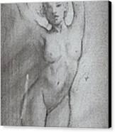 Quick Sketch Canvas Print by Luis  Navarro