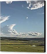 Quiet Prairie Canvas Print by Jon Glaser
