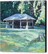 Quiet Resting Place Canvas Print