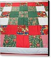 Quilt Christmas Blocks Canvas Print