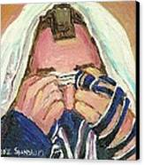 Rabbi's Prayer For The Sabbath Canvas Print
