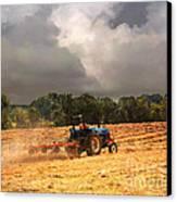 Race Against The Storm Canvas Print