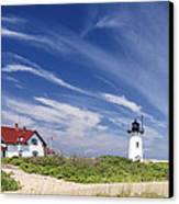 Race Point Light Canvas Print by Bill Wakeley