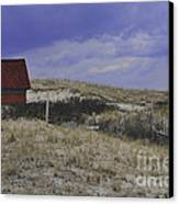 Race Point Light Shed Canvas Print
