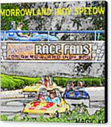 Racing Dreams Canvas Print