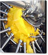 Radial Engine Canvas Print