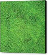Radiation Green Canvas Print