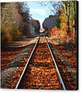 Rails Canvas Print by Tricia Marchlik