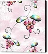 Rainbow Berries Canvas Print