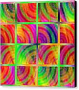 Rainbow Bliss 3 - Over The Rainbow H Canvas Print