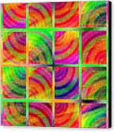 Rainbow Bliss 3 - Over The Rainbow V Canvas Print