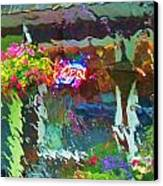 Rainfall Canvas Print by Helen Carson