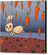 Raining Carrots Canvas Print