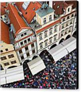Rainy Day In Prague-2 Canvas Print