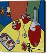Raspberry Wine Canvas Print