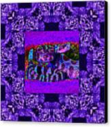Rattlesnake Abstract Window 20130204m133 Canvas Print