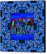Rattlesnake Abstract Window 20130204m180 Canvas Print