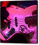 Raunchy Guitar Canvas Print by Bob Christopher