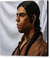 Raven's Portrait Canvas Print