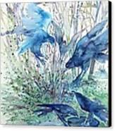 Ravens Wood Canvas Print