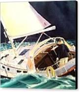 Reach For Safe Harbor Canvas Print