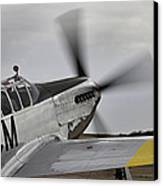 Ready To Taxie Canvas Print by M K  Miller