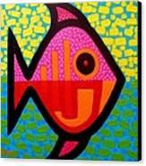 Rebel Fish  II Canvas Print by John  Nolan