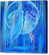 Rebirthing The Sacred Feminine Canvas Print by The Art With A Heart By Charlotte Phillips