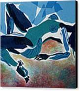 Recline Canvas Print by Diane Fine