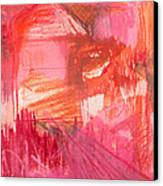 Red. 2 Canvas Print by Marie Tosto