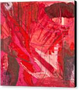 Red. 3 Canvas Print by Marie Tosto