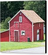Red Barn Canvas Print by Kevin Croitz