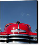 Red Chevrolet 3100 1953 Pickup  Canvas Print