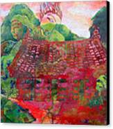 Red Festival Canvas Print by James Huntley