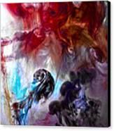 Red Horseman Canvas Print by Petros Yiannakas