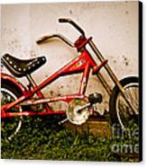 Red Hot Stingray Bike Canvas Print by Sonja Quintero