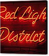 Red Light District Canvas Print by Kiril Stanchev