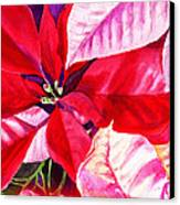 Red Red Christmas Canvas Print
