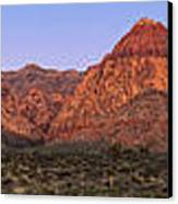 Red Rock Canyon Pano Canvas Print by Jane Rix