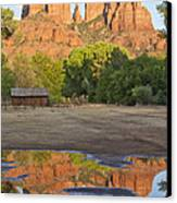 Red Rock Crossing Canvas Print by Ruth Jolly