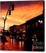 Red Sky At Dusk Canvas Print by   Joe Beasley
