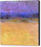 Red Sky Canvas Print by Michelle Calkins