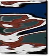 Red White And Blue Vi Canvas Print by Heidi Piccerelli