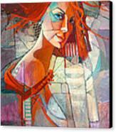 Redhead Canvas Print by Jennifer Croom