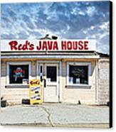 Red's Java House Canvas Print by Tim Fleming