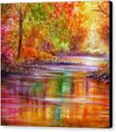 Reflection Canvas Print by Ann Marie Bone