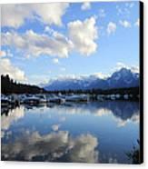 Reflection Lake Canvas Print by Mike Podhorzer