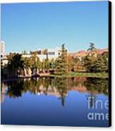 Reflection Pond Canvas Print by Kathleen Struckle