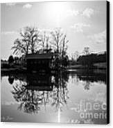 Reflections Of Peace And Tranquillity Canvas Print by Jinx Farmer